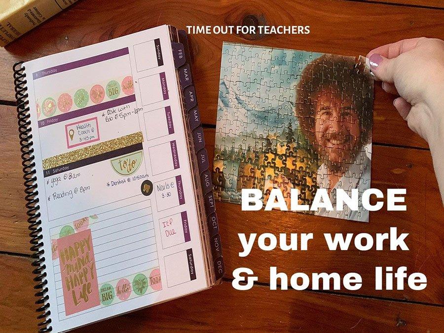 balance your work and home life