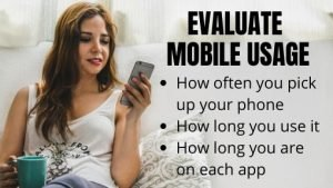 Evaluate your mobile usage