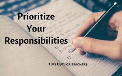 Prioritize Your Responsibilities