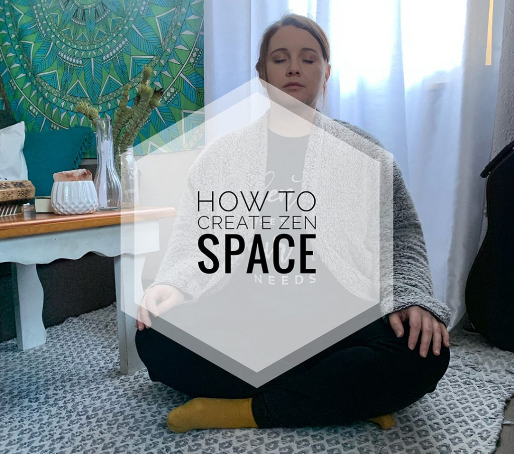 create a zen space