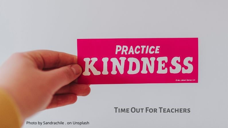 practice random acts of kindness in the classroom