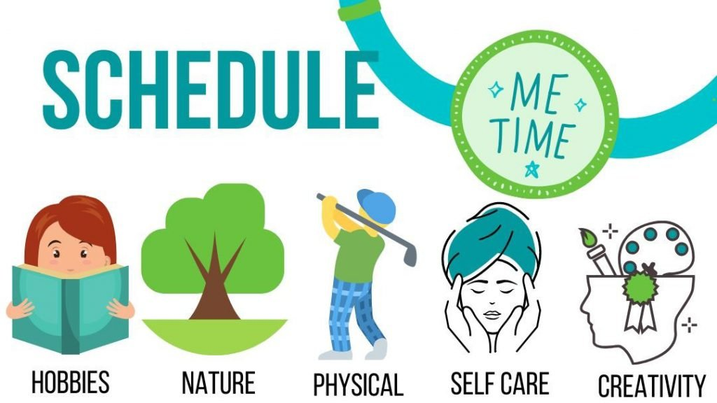 schedule me time infographic